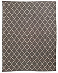 All-Weather Recycled Diamond Outdoor Rug - Mocha/Latte
