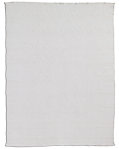 All-Weather Recycled Heathered Solid Outdoor Rug - White