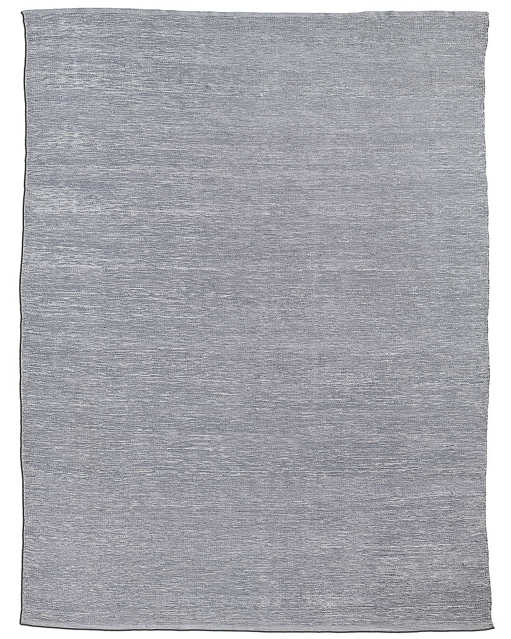 All-Weather Recycled Heathered Solid Outdoor Rug - Fog