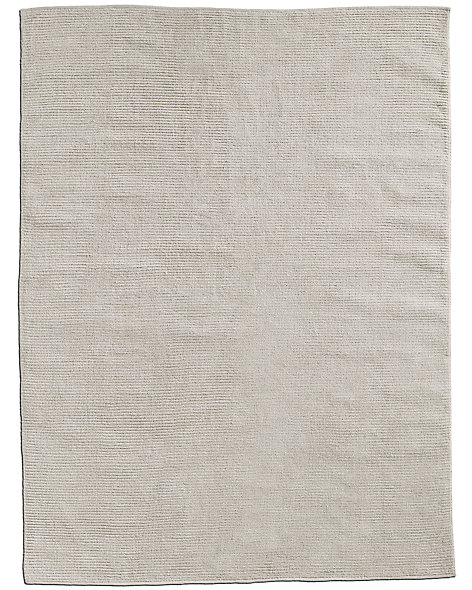 Ribbed Bouclé Outdoor Rug - Ivory
