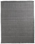 Geometric Flatweave Outdoor Rug - Silver/Charcoal