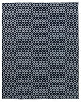 Chevron Flatweave Outdoor Rug - Grey/Navy