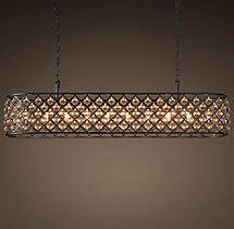 Spencer Rectangular Chandelier 72""