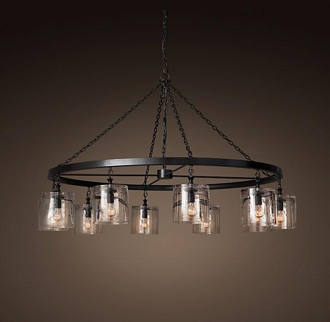 Mason glass filament chandelier 60 aloadofball Images