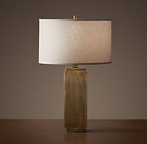 Square Column Accent Lamp