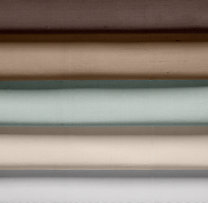 Thai Silk Solid Roman Shade Swatch