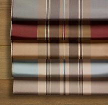 Silk Taffeta Multistripe Swatch
