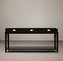 Warwick Campaign Console Table