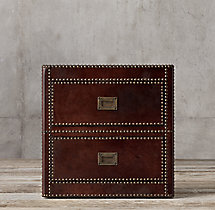 Marseilles 2-Drawer Side Table