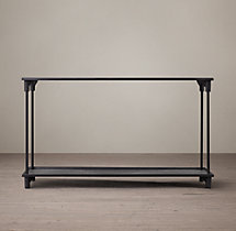 20th C. European Factory Metal Console