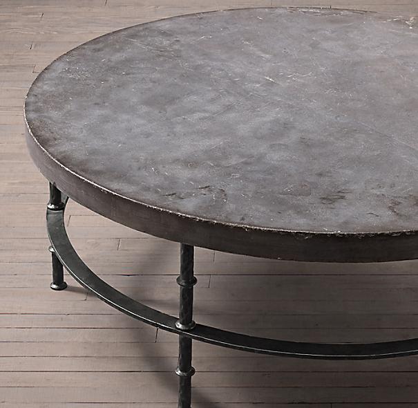 Rowen Bluestone Round Coffee Table