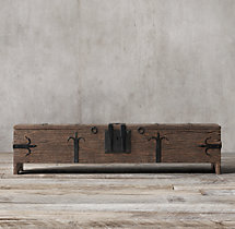16th C. Spanish Trunk Coffee Table