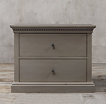 St. James 2-Drawer Wide File Cabinet