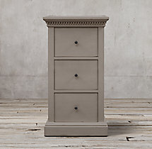 St. James 3-Drawer Narrow File Cabinet