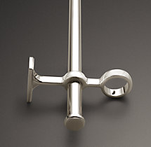 Double-Rod Conversion Kit - Polished Nickel - Polished Nickel