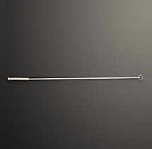Drapery Wand - Polished Nickel