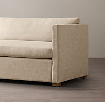 5' Belgian Classic Shelter Arm Upholstered Sofa