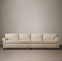 "120"" The Petite Lancaster Upholstered Sofa"
