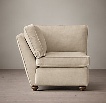 Petite Original Lancaster Upholstered Corner Chair