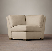 Petite Maxwell Upholstered Corner Chair