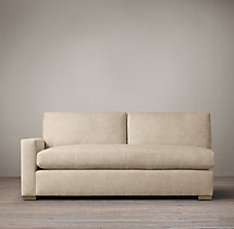Petite Maxwell Upholstered Left-Arm Sofa