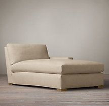 Petite Maxwell Upholstered Right-Arm Chaise