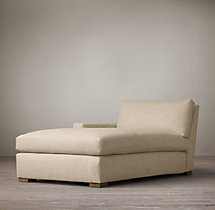 Petite Maxwell Upholstered Left-Arm Chaise