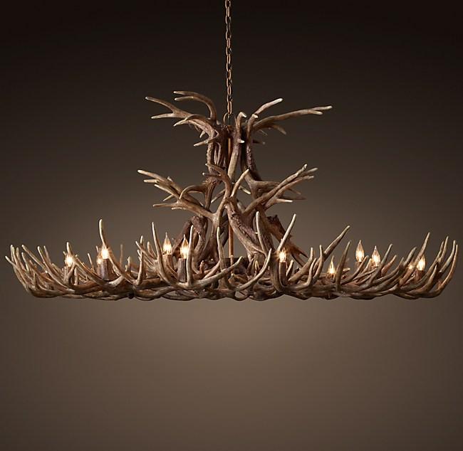 Aspen antler chandelier 72 aloadofball Choice Image