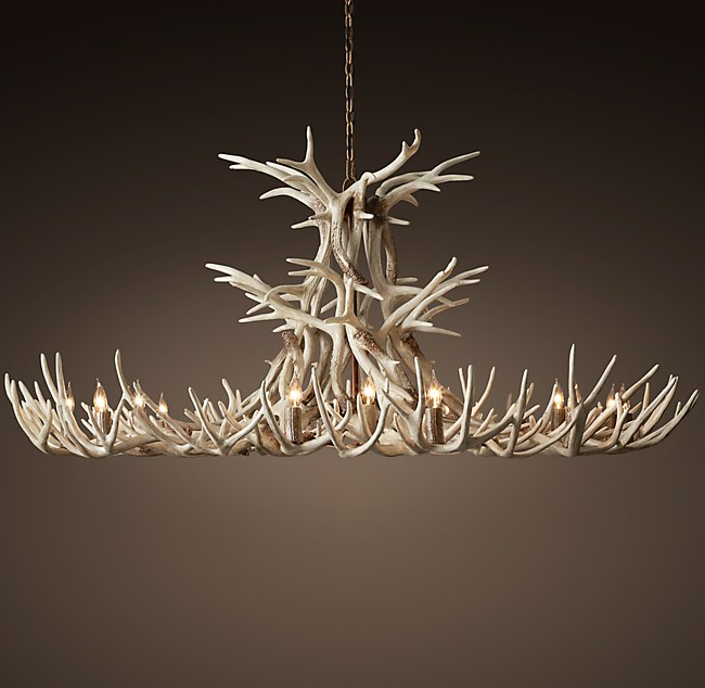 Aspen antler chandelier 72 aloadofball Images