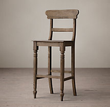 19th C. English Schoolhouse Stool