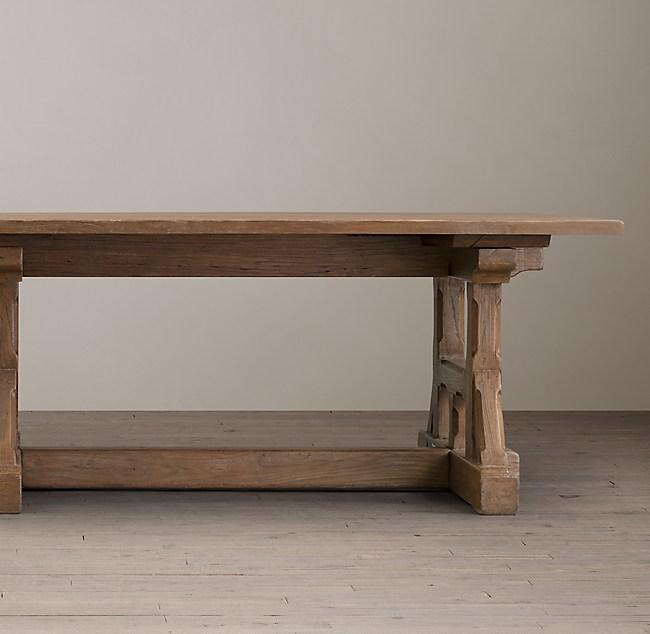 Circa 1900 Craftsman Rectangular Dining Table