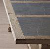 18th C Reclaimed Pine Amp Bluestone Rectangular Dining Table