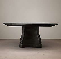 Neoclassical Pedestal Table