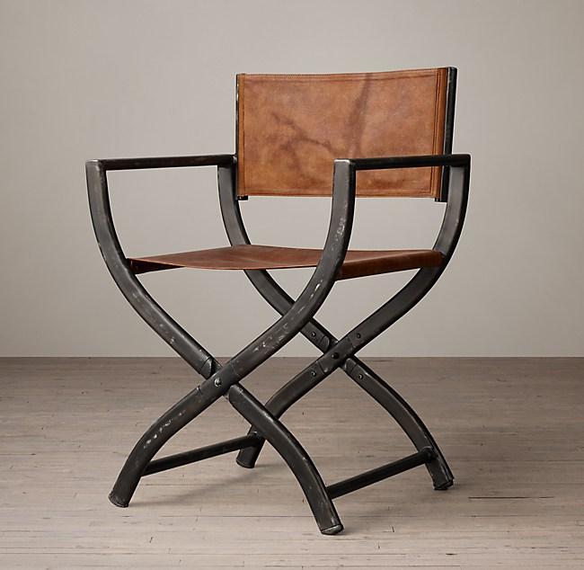 1970s French Director's Chair - French Director's Chair