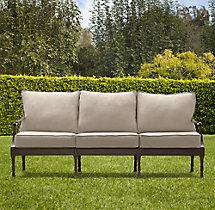 "70"" Antibes Classic Sofa Cushions"