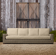 "108"" Antigua Sofa Cushions"