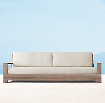 "101"" Belvedere Luxe Sofa - Weathered Teak"