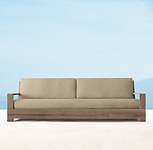 "101"" Belvedere Luxe Sofa Cushions"