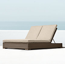 Biscayne Double Chaise