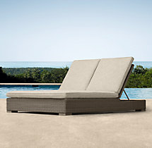 Biscayne Double Chaise Cushions