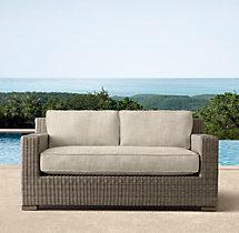 "55"" Biscayne Classic Sofa Cushions"
