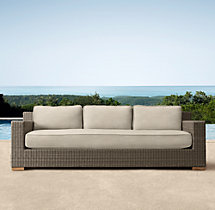"77"" Biscayne Classic Sofa Cushions"