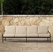 """97"""" Carmel Luxe Sofa Cushions"""