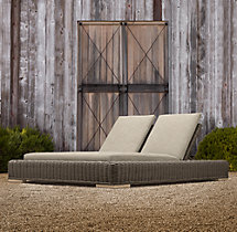 Majorca Luxe Double Chaise Cushions