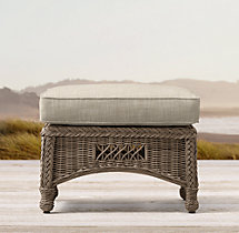 Bar Harbor Ottoman Cushion