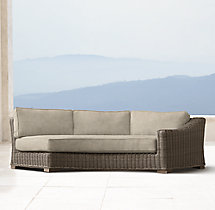 Provence Luxe Round Right-Arm Sofa