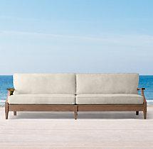 """103"""" Santa Monica Luxe Sofa Cushions"""