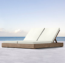 Costa Double Chaise Cushions