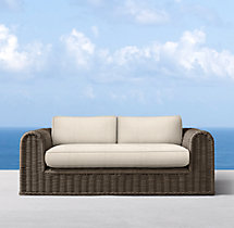 "76"" Sorrento Sofa Cushions"