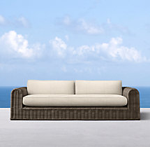 "103"" Sorrento Sofa Cushions"
